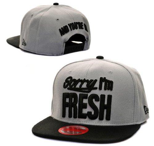 New Cap Hat Snapback Sorry I'M Fresh Gray Kush Basketball Baseball