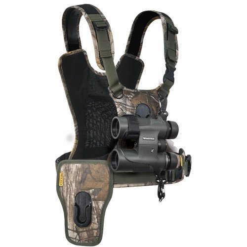 Cotton Carrier CCS G3 Binocular and Camera Harness (Realtree Xtra Camo) by Cotton Carrier