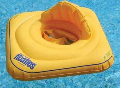 Baby Swim Seat - Flotador con asiento para bebés (hasta 1 año / 11 kg), color amarillo: Amazon.es: Bebé