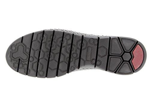 Chaussure femme confort en cuir Piesanto 9994 sneaker confortables amples Noir