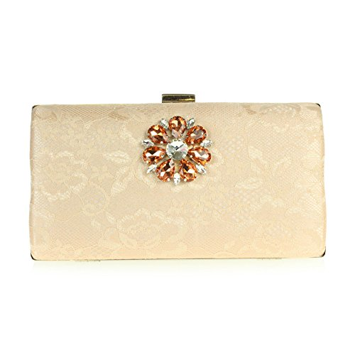 Ladies Crystal Women nbsp;Clutch Wedding Pink Evening Diamante Prom Party bag Bridal Hand qpTTgd