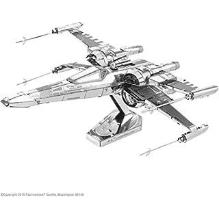 Fascinations Metal Earth Star Wars Force Awakens Poe Dameron's X-Wing Fighter 3D Metal Model Kit