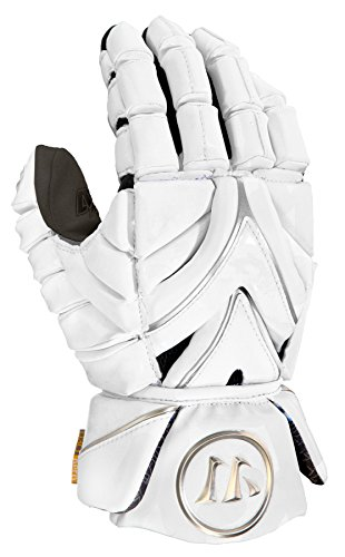 Warrior Rabil Gloves, White, Medium Brine Field Hockey Stick