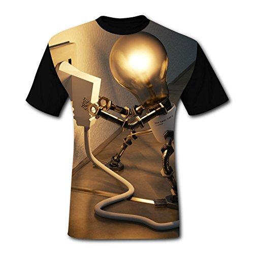 (Deborahbe Lamp Outlet Men's T-Shirt Fun Tee Shirt Sports Tshirt for Men XL)