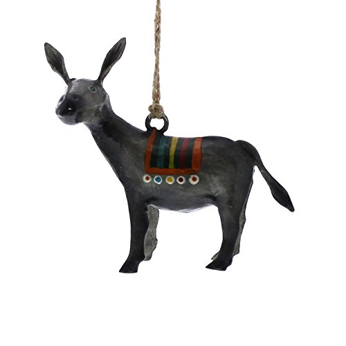 Colorful Burro Donkey Horse Ornament Set | Mexican Fiesta