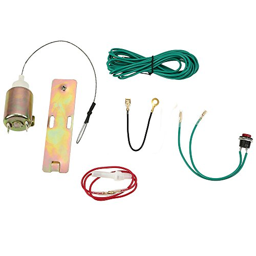 ECLEAR Electric Door or Boot Trunk Release Handle Popper Opener Solenoid Kit for Locking Car