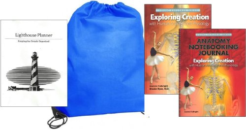 - Exploring Creation with Human Anatomy and Physiology w/ Notebooking Journal homeschool kit in a bag