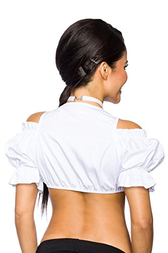 Ladymissalonghi - Blusa - para mujer blanco