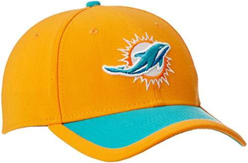 NFL Miami Dolphins 2015 Reverse 39Thirty Stretch Fit Cap, Large/X-Large, Orange