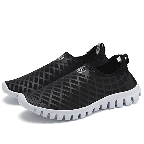 CIOR Quick-Dry Water Sports Shoes Men and Women's Multifunctional for Swim Walking Yoga Lake Beach Garden Park Driving Boating,SJC02,L.Black,45 2