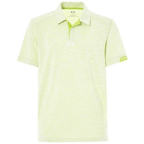 Oakley Men's Gravity Polo Lime Green S