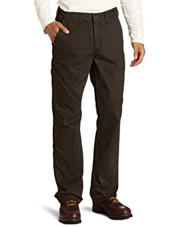 Carhartt Men's Rugged Work Khaki Relaxed Fit,Dark Coffee,30 x 30
