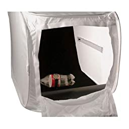 Photek Digital Lighthouse, Translucent Cloth Material Housing for Tabletop Still Life Product Photography, Large (18x18x27.5\