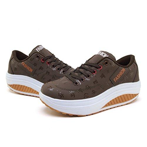 LFEU Marrone Donna Sneaker Sneaker Sneaker Donna Marrone LFEU LFEU SdXwtIxI