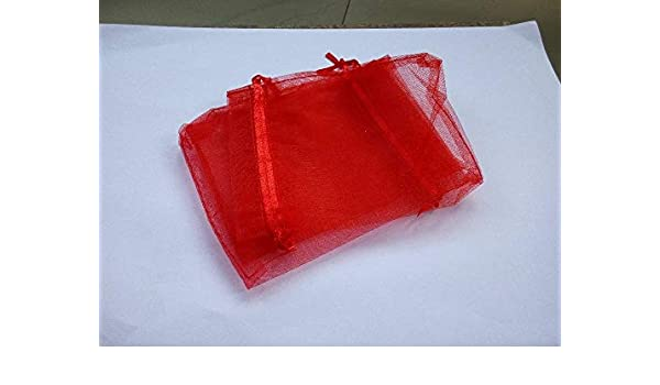 Amazon.com: BATOP Red Gift Bags for Jewelry/Wedding ...