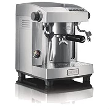 Graef ES 95 Independiente Manual Máquina espresso 3L 2tazas Acero inoxidable - Cafetera (Independiente,