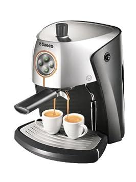 Saeco Nina Bar, Negro, Plata, 280 x 355 x 305 mm, 4082 g, Metal/Plástico - Máquina de café: Amazon.es: Hogar