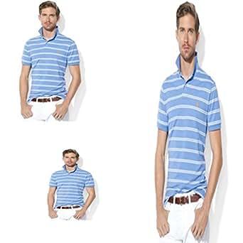 Polo By Ralph Lauren Mens Polo Shirt Blue Xl