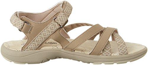 Northland MIA Leather Sandals, Sandalias Deportivas para Mujer, Multicolor (Camel/Sand), 38 EU Northland