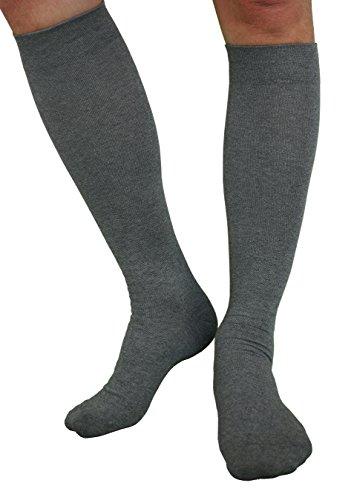 1-4 Paar Knie Stützkniestrümpfe Damen Herren Reisestrümpfe Kompressionsstrümpfe
