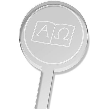 5 x Símbolos Alfa y Omega Alto Beber Agitador (DS00025643 ...