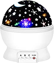 Tisy Nightlight Projector for Kids - Great Boys and Girls Gifts