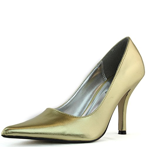 top Women's High Heel Stilettos Pointy Toes Office Work Interview Party Pump Fashion Shoes