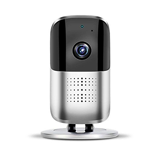 ZZY Wireless Home Camera, Wifi IP Security Surveillance Camera 1080P HD Baby Monitor Nanny Cam For Baby/Elder/Pet Caring With 2-Way-Audio, Motion Detection&Night Vision by ZZY