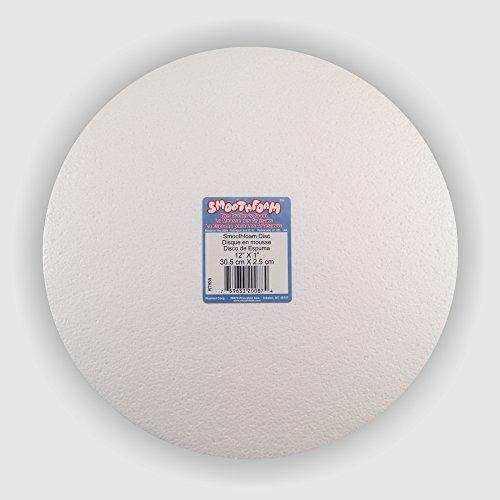 Bulk buy: 12 pack - 12 in Smooth Foam Disc - Plasteel Brand