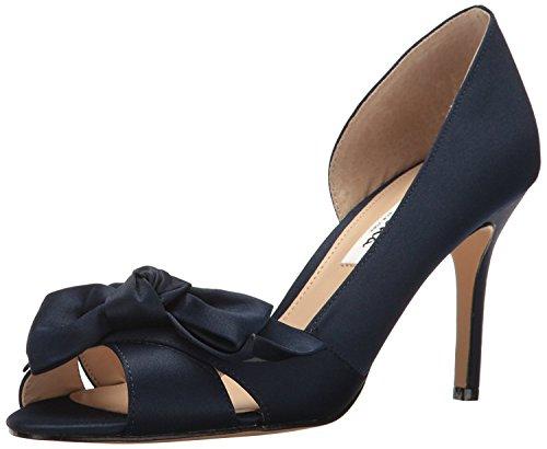 NINA Women's Forbes2 Dress Pump, Ls-New Navy, 7 M US