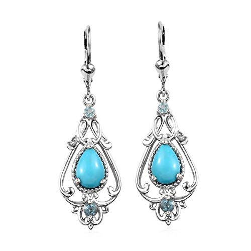 Dangle Drop Earrings 925...