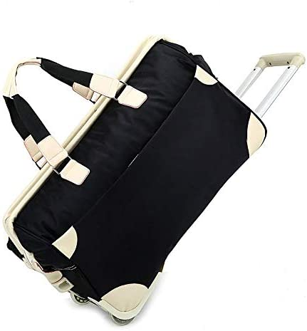 65〜75Lギフトトロリーバッグナイロン旅行トロリーバッグアウトドア旅行荷物バッグトロリーバッグ、特大トートバッグ付き