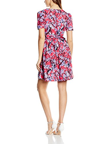 Wolf & Whistle Painted Blossom, Vestido para Mujer Rosa