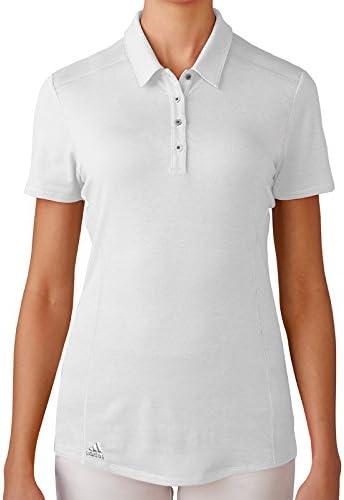 adidas Performance Polo de Golf, Mujer, Blanco, S: Amazon.es ...