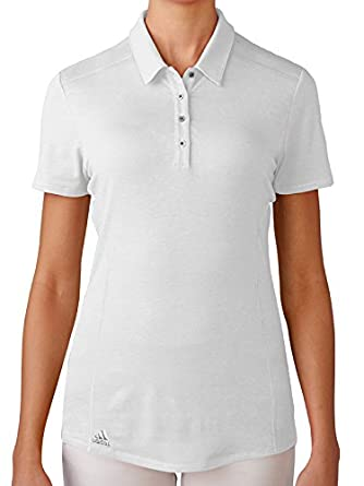 adidas Performance Polo de Golf, Mujer, Blanco, S: Amazon.es: Ropa ...