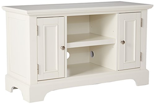 Naples White TV Stand by Home