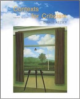 Contexts For Criticism Book Pdf