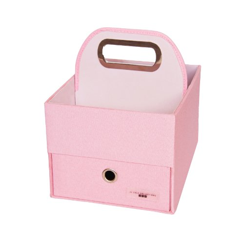 Pink Heather (JJ Cole Heather Diaper and Wipes Caddy, Pink)