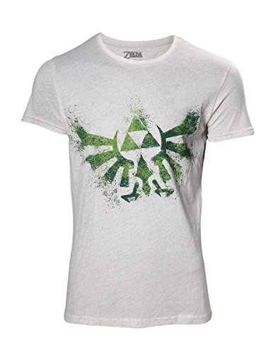 The Legend of Zelda - Hyrule Nappy Men's T-Shirt - Maat S