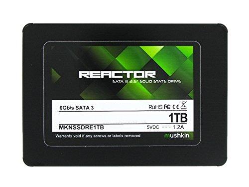 Mushkin REACTOR 1TB Internal Solid State Drive (SSD) 2.5 Inch SATA III 6Gb/s MLC 7mm MKNSSDRE1TB by Mushkin (Image #2)
