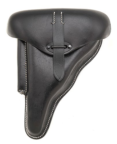 GERMAN BLACK LEATHER WALTHER P38 HOLSTER WW2 DATED for sale  Delivered anywhere in USA