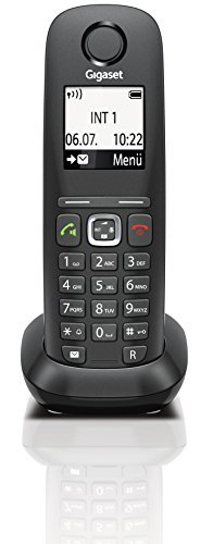 Gigaset A540 CAT Dect-Schnurlostelefon (Mobilteil, VoIP, exclusiv für den Einsatz an Routern mit Dect CAT iq 2.0) schwarz