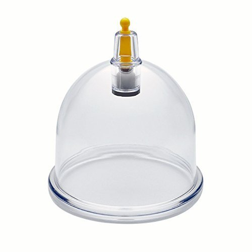 Wholesale Cupping Therapy Vacuum Suction Disposable Hijama Cups Chiropractor Acupuncture Physiotherapy - Multiple Sizes - Express Delivery Worldwide (50 Cups, B2 - Inner 5.15cm - Outer 5.8cm) by Nature's Blends Ltd