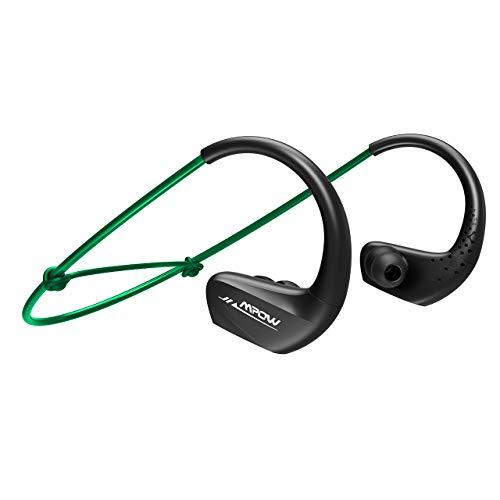 750229e697f Mpow [Upgrade] A6 Bluetooth Headphones 11 Hours Playtime, IPX6 ...