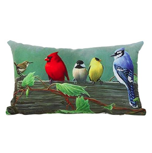 [Pillow Case,Vovotrade Super Soft Square Throw Pillow Case Decorative Cushion Pillow Cover 12