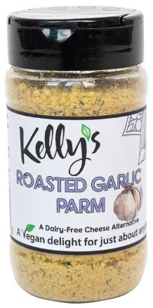 Kelly's Gourmet Roasted Garlic Parmesan, 1-Pack, Cashew Based Cheese