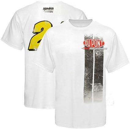 Amazon Com Nascar Jeff Gordon Vintage Stripe T Shirt White X Large Athletic Shirts Sports Outdoors