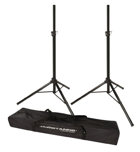 Ultimate Support JS-TS50-2 Tripod Speaker Stand- Pair - Includes a 1-1/2