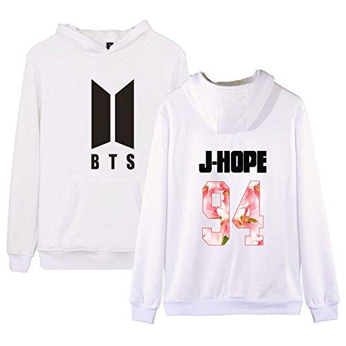 KPOP BTS New Logo Hoodie Bangtan Boys Unisex Sweatershirt JIN SUGA JIMIN V