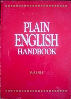 Plain english handbook walsh 9780800930233 amazon books plain english handbook fandeluxe Choice Image